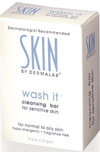 Dermalab Wash It Cleansing Bar 4.5 oz