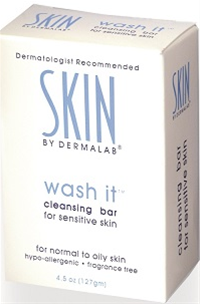 Dermalab Wash It Cleansing Bar 4.5 oz