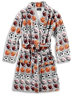 8fd9710812 Fuzzy Robe Sports Size 7 8 Kids