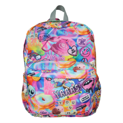 Iscream Backpack Psychedelic