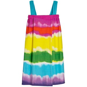 Tie Dye Shower Wrap M/L