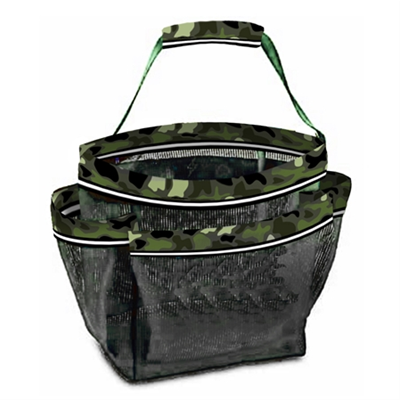 Mesh Camoflauge Shower Caddy