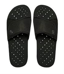 Showaflop Black Slides Kids