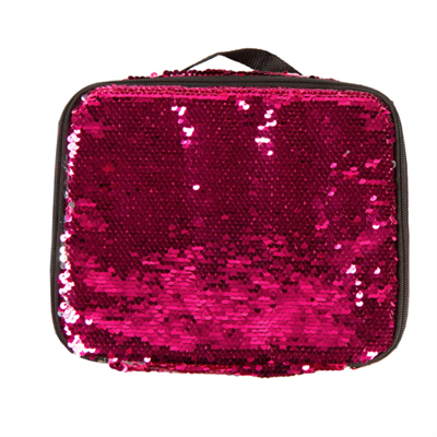 Sequin Lunch Tote Pink